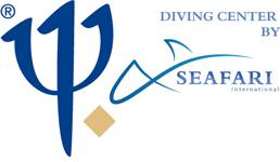 logo club med diving center by seafari